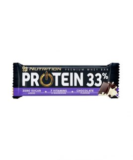 Beljakovinska ploščica 33% z okusom čokolade GO ON Nutrition (50 g)