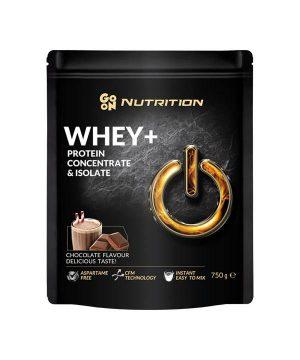 WHEY proteini z okusom čokolade GO ON Nutrition (750 g)