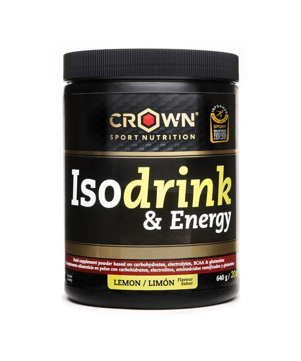 Izotonični napitek z okusom limone Crown Sport Nutrition (640 g)