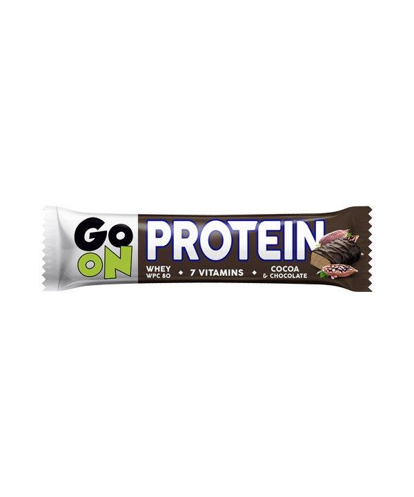 Proteinska ploščica 20% s kakavom GO ON (50 g)