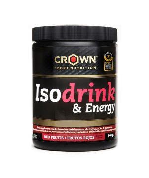 Izotonični napitek z okusom rdečega sadja Crown Sport Nutrition (640 g)