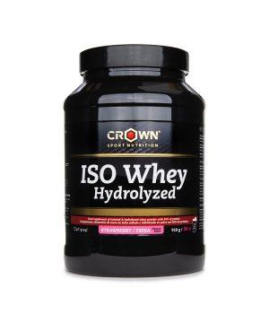 WHEY proteini v prahu z okusom jagode Crown Sport Nutrition (918 g)