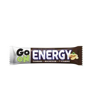 Energijska ploščica z oreščki in karamelo GO ON (50g)