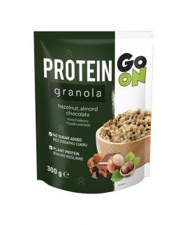 Granola PROTEIN z oreščki in čokolado GO ON (300g)