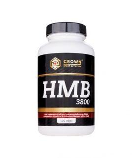 HMB 3800 kapsule Crown Sport Nutrition (120 kos)