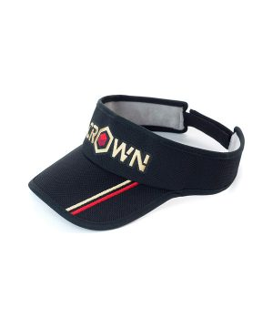 Kapa s senčnikom (črna) Crown Sport Nutrition