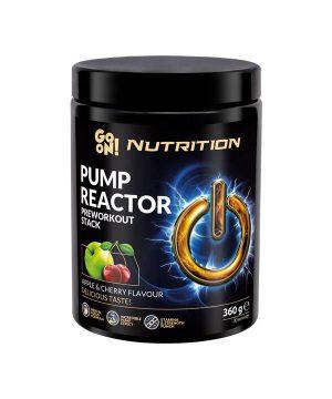 Pump Reactor z okusom jabolka in češnje GO ON Nutrition (360g)