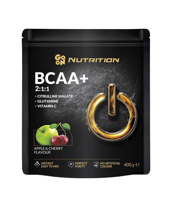 BCAA z okusom jabolka in češnje GO ON Nutrition (400g)