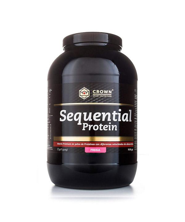 Fazne beljakovine z okusom jagode Crown Sport Nutrition (918g)