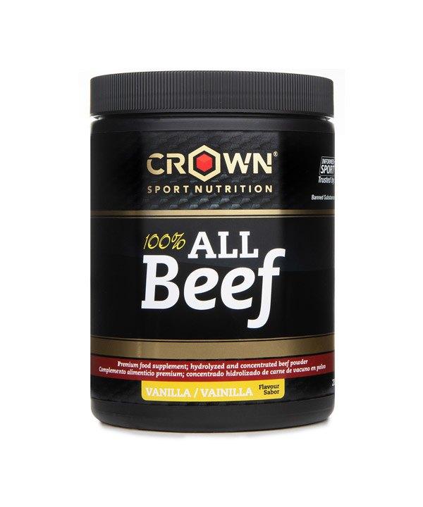 100% govedina v prahu z okusom vanilije Crown Sport Nutrition (200g)