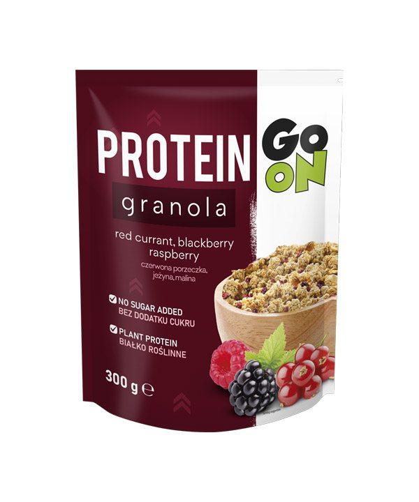 Granola PROTEIN z jagodičevjem GO ON (300g)