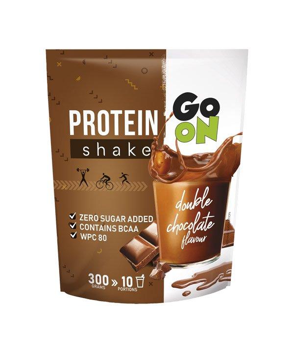 Proteinski napitek z okusom dvojne čokolade GO ON (300g)