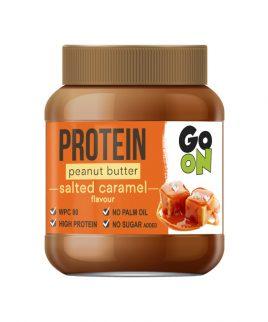 Arašidov namaz z okusom slane karamele Go On Protein (350g)
