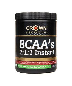 BCAA 2:1:1 zeleno jabolko Crown Sport Nutrition 210g