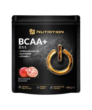 BCAA z okusom rdeče pomaranče GO ON Nutrition (400 g)