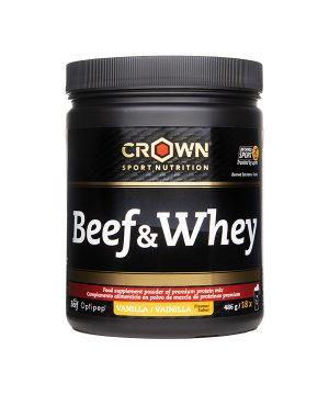 Govedina & Whey vanilija Crown Sport Nutrition (486g)