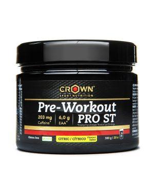 Pre-workout PRO ST citrusi Crown Sport Nutrition 300g