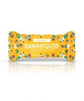 Ploščica kokos Raw my God (50 g)
