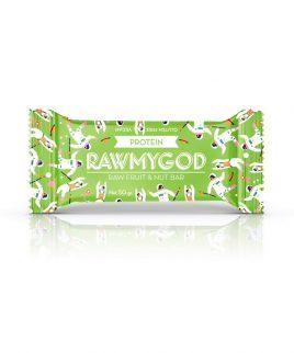 Ploščica protein Raw My God (50 g)