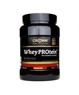 WHEY + glutamin, levcin ČOKOLADA Crown Sport Nutrition 871g