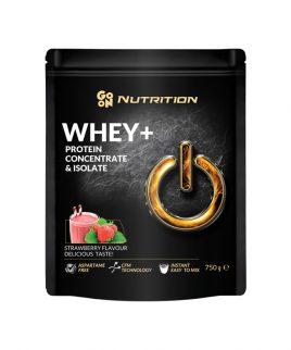 WHEY proteini z okusom jagode GO ON Nutrition (750g)