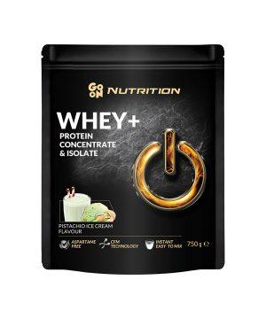 WHEY proteini z okusom pistacije GO ON Nutrition (750g)