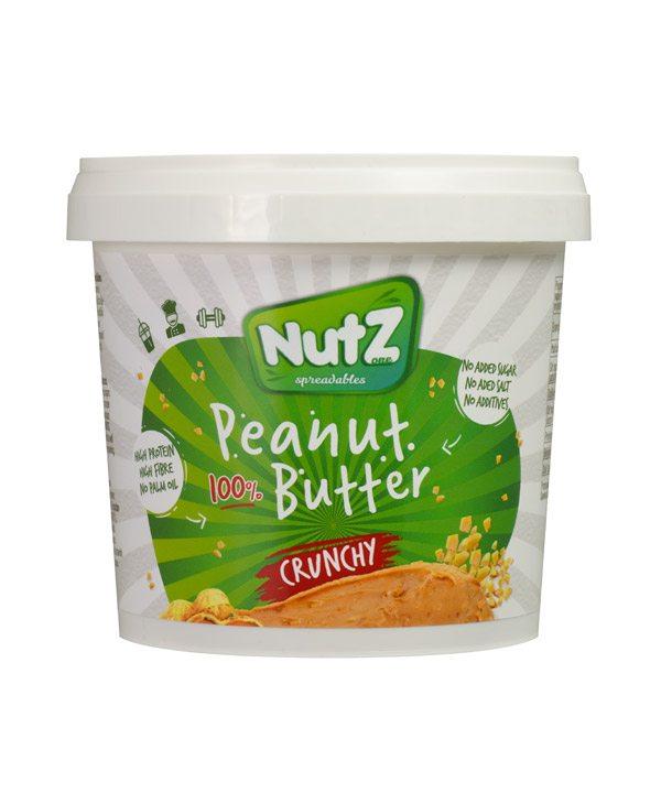 Arašidov namaz s koščki 100% Nutz (1kg)