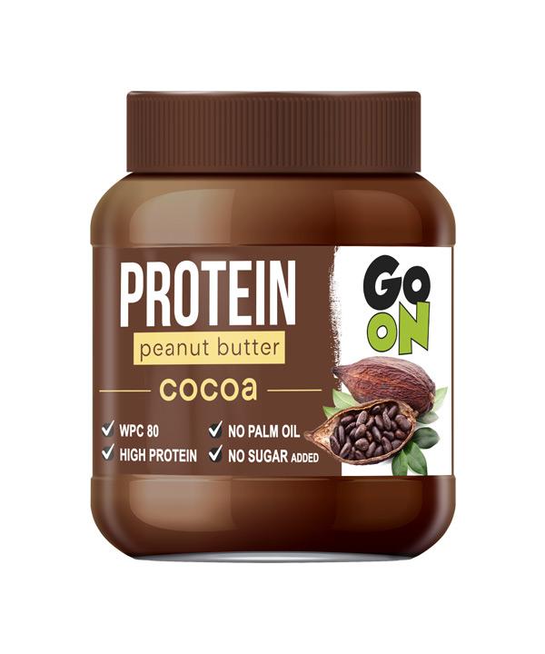 Arašidov namaz s kakavom Go On Protein (350g)