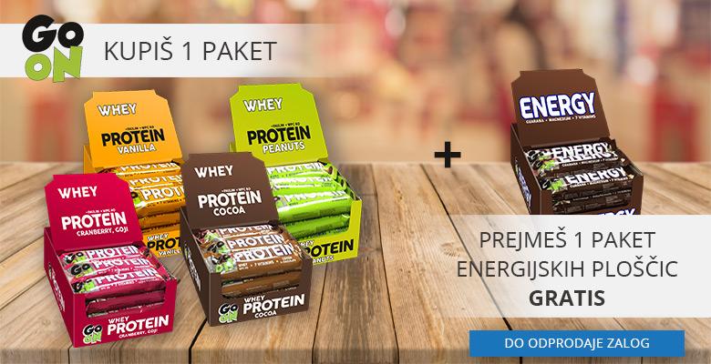 Proteinske ploščice GO ON