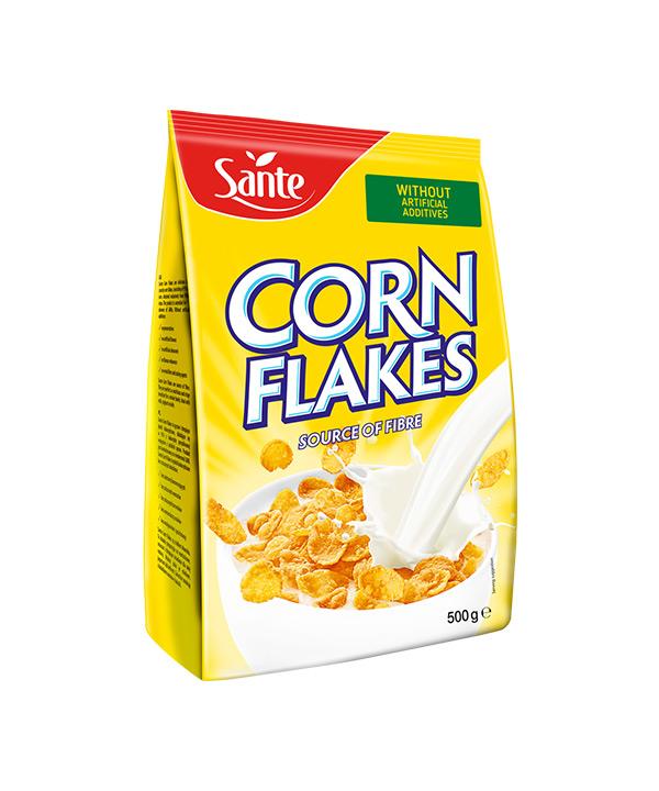 Koruzni kosmiči CORN FLAKES Sante (500g)