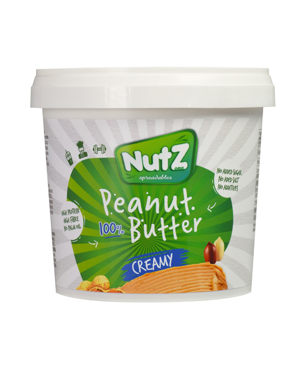 Arašidov namaz kremni 100% Nutz (1kg)